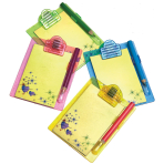 Mini Clipboards & Pencils - 6 PKG/4