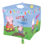 "Peppa Pig & Friends - 15""/38cm w x 14""/38cm h - Foil Balloons - G40 - 5 PC"