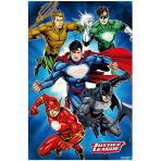 Justice League Party Games - 6 PKG/4