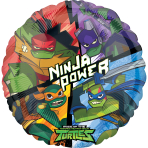 Rise of the Teenage Mutant Ninja Turtles Standard HX Foil Balloons S60 - 5 PC