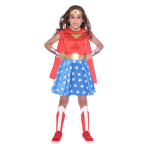 Wonder Woman Classic Costume - Age 6-8 Years - 1 PC