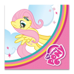 My Little Pony Luncheon Napkins 33cm - 10 PKG/20