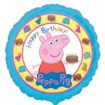 Peppa Pig Happy Birthday Standard Foil Balloons S60 - 5 PC