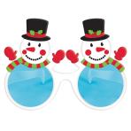 Giant Snowman Glasses 20cm x 15cm - 6 PC
