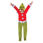 The Grinch Costume - Age 6-8 Years - 1 PC