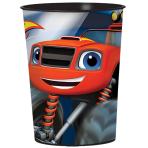 Blaze Plastic Favour Cups 473ml - 12 PC