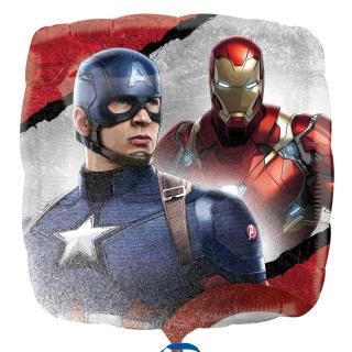 Super new Captain America: Civil War balloon!