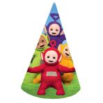 Teletubbies Cone Hats 16cm - 6 PKG/8