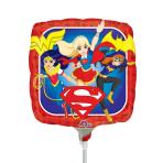 DC Super Hero Girls Mini Foil Balloons A20 - 5 PC