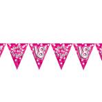 Happy 18th Birthday Flag Banner - 4m 10 PKG