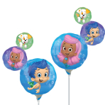 Bubble Guppies Mini Shape Foil Balloons 2 sided - A30 5 PC