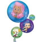 """Bubble Guppies SuperShape Foil Balloons 22""""/55cm x 28""""/71cm - P38 5 PC"""