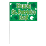 St. Patrick's Day Multipack Flags - 12 PKG/12