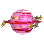 "Out Of This World UltraShape Foil Balloons 29""/73cm x 20""/50cm P55 - 5 PC"