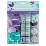 Mermaid Wishes Mega Value Favour Packs - 6 PKG/48