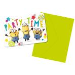 Minions Invitations - 6 PKG/8
