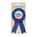Birthday Boy Award Ribbons - 6 PC