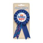 Birthday Boy Award Ribbons - 6 PC