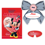 Minnie Mouse Party Games - 6 PKG