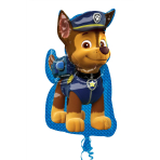 Paw Patrol Chase SuperShape Foil Balloons P38 - 5 PC