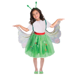 The Very Hungry Caterpillar Costume - Age 3-8 Years - 1 PC