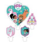 Nella The Princess Knight Candle Sets - 6 PKG/4