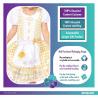 Goldilocks Sustainable Costume - Age 4-6 Years - 1 PC