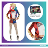 Harley Quinn Suicide Squad Costume - Size 8-10 - 1 PC