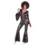 Adults Women Disco Pants Suit - 3 PC