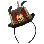 Witch Doctor Hat Headbands - 3 PC