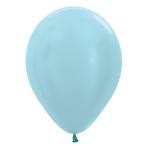 "Satin Solid Blue 440 Latex Balloons 12""/30cm - 50 PC"