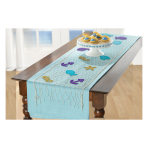 Mermaid Wishes Fishnet Table Runner Decorating Kits - 6 PC