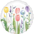 Tulip Garden Standard HX Foil Balloons S40 - 5 PC