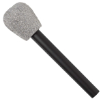 Totally 80s Glitter Microphone - 9 PC
