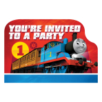 Thomas & Friends Postcard Invitations - 6 PKG/8