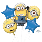 Despicable Me Foil Balloon Bouquets P75 - 3 PC