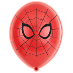 "Spider-Man LED Assorted Colour Latex Balloons 11""/27cm - 12 PKG/5"