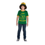 Stranger Things Dustin Costume - Age 12-14 Years - 1 PC
