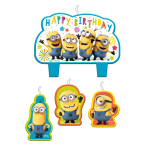 Minions Birthday Candles - 6 PKG/4