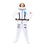 Astronaut White Costume - Large Size - 1 PC
