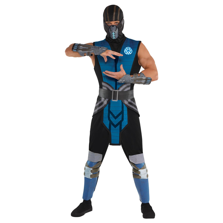 Mortal Kombat Sub Zero Costume - Size Large - 1 PC ...