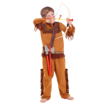 Boys Native American Far West Costume & Accessories - Age 3-5 years - 1 PC