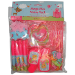 Woodland Princess Mega Mix Value Favour Packs - 6 PKG/48