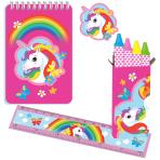 Unicorn Stationery Pack - 5 PKG/20