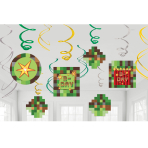 TNT Party! Swirl Decorations - 6 PKG/12