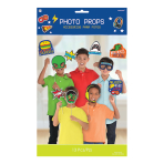Epic Party Photo Props - 12 PKG/13