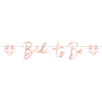 Team Bride Paper Letter Banners 1.8m x 15cm - 6 PC