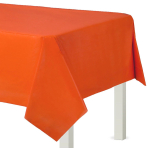 Orange Peel Plastic Tablecovers 1.37m x 2.74m - 12 PC
