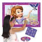 Disney Sofia the First Pin the Amulet Party Games - 6 PKG/6