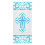 Religious Small Blue Party Bags - 12 PKG/20